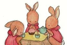 It's Easter! Tea Time for Bunnies! / Easter tea themed moments. Great ideas for making your Easter tea even more special!