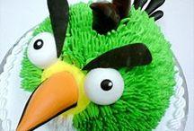 Angry Birds Cake / Angry Birds Cake