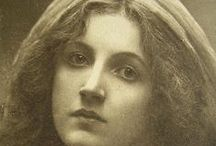 Cameron, Julia Margaret / One of the greatest portraitists in the history of photography, Julia Margaret Cameron (1815–1879) blended an unorthodox technique, a deeply spiritual sensibility, and a Pre- Raphaelite–inflected aesthetic to create a gallery of vivid portraits and a mirror of the Victorian soul.   / by KC Martin