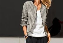 Fashion: casual/ daywear (trousers/ jackets) / by Denise Rogers