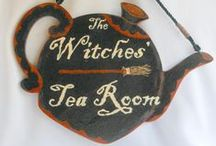 Halloween Tea / Trick or Tea? Let's all have a spooky teatime together.