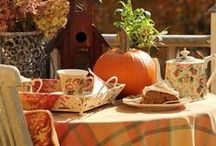 Thanksgiving Tea / Let's be thankful for tea!