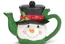 Christmas Tea / Merry Christmas! Seasons Greetings.