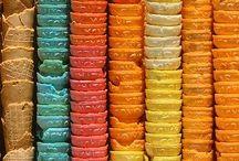 Paletas de color (referencias) / Imágenes ideales para seleccionar la paleta de color indicada para plasmar la colorimetria de un lugar