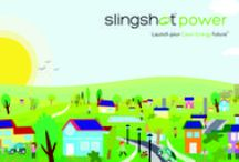 Slingshot Power / Seize the daylight! Stop giving your money to the energy giants. Go solar and save money for yourself while helping create a cleaner world! #solar #cleanenergy