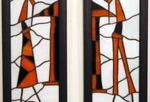 self-made stained glass / stained glass