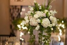 Wedding Day Centrepieces / by Denise Rogers