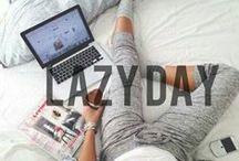 Lazy Day / Pinterest: @kardelenezgi