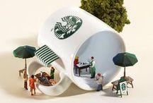 Miniature Dioramas / Pinterest: @kardelenezgi