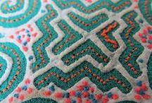 Knots, stitching, embrodery & knitting