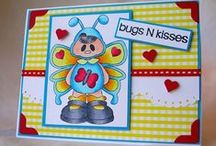 Bugs N Kisses / Clear stamp from pinkandmain.com