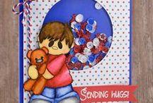 Bear Hugs / Clear stamp from pinkandmain.com