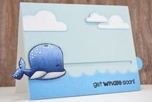 Whale of a Time / Clear stamp from pinkandmain.com