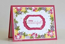 Florals / Clear stamp from pinkandmain.com