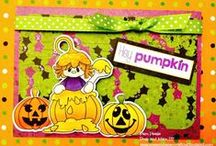 Hey Pumpkin Stamps and Dies / Clear stamps and dies from pinkandmain.com