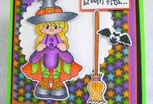 Best Witches Stamps and Dies / Clear stamps and dies from pinkandmain.com