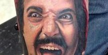 Ron de Jeremy Tattoos and Drawings / In honour of all those awesome fans who create Ron de Jeremy Spirits Art