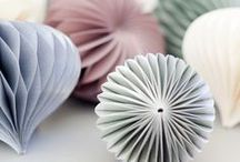 Paper art / Origami, paper cut-outs and paper sculptures etc.