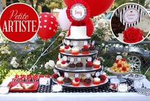 Petite Artiste Birthday Party!