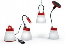 BRIGHT Products / Images of the SunBell solar lamp and mobile phone charger from BRIGHT Products