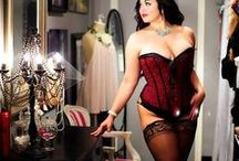 PLUS SIZE CORSETS / Best Plus Size Corsets ever  / by BIG CURVY LOVE [Kelly Glover ]