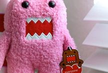 Domo / ...what color is the sky when unicorns fly by?