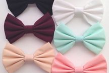 Bows❤️ / All of the cute bows