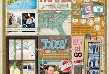 Planner, Journals, Smashbook, Scrapbook, Project Life,