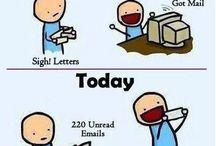 You got mail... / Mailart, Envelope, Airmail,