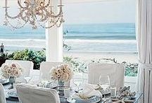 ⚓  OCEAN FRONT HOMES ⚓ / Beautiful Ocean Front Homes from all over the world along with Decor ideas for Beach and Coastal homes. - Orange County California we have beautiful Newport and Laguna Beach with never ending gorgeous sand and beauty. ⚓  / by ༺༻ Christina Khandan  ༺༻