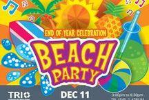 TRI Beach Party ideas / Beach Party