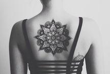 TATTOO / I love art on skin _ I love tattoo so much _ My way