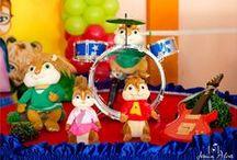 Festa Alvin e os Esquilos