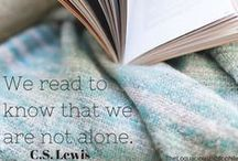 Book Love Quotes / We all love books!  Here are a few quotes that reflect that love!