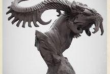 • Sculptures