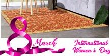 Women's Day Sale / Rugsville.ca Celebrates International Women's Day - Browse to avail online special offers/discounts on Home Decor, Rugs and Carpet, Accessories, Decorative Pillows, Decorative Mirror, Wall Decor & much more. Free Shipping!!!   Visit: https://www.rugsville.ca