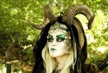 LARP  /  Collection of NPC, and Character creations, clothing, armor, makeup, props/crafts, module scenery, traps, and how to hide the mundane, wish-list event sites. / by Yolanda Campbell