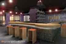 Infografías de Bares y Restaurantes / Infografías realizadas para proyectos de Bares y Restaurantes en el estudio.