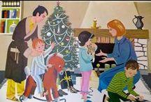Noël/ Christmas / Idées décor, DIY, recettes, belles images