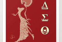 Delta Sigma Theta / My Sorority / by Marjorie Robinson