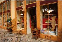 Boutique Si Tu Veux/  Toy Store in Paris / 68 Galerie Vivienne 75002 Paris/ Ouvert du lundi au samedi de 10h 30 à 19 heures