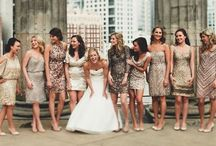 Bridesmaids Ideas / Bridesmaid ideas for weddings and showers and invitations.