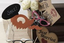 Wedding Photobooth Ideas / Wedding Photobooth ideas, props and inspiration.