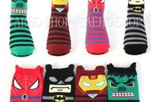 Wacky Korean Socks / American socks are so boring w/ no character. If you're going to take your shoes off give people something fun to look at!