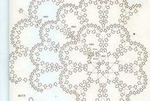 frywolitka / Koronka frywolitkowa .Wzory i wyroby
