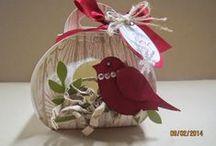 Zierschachtel für Andenken / Curvy Keepsake Box