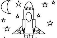 Kids - Cosmos, space, universe. Космос