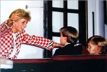 """Princess Diana and her Boys........ / """"I want my boys to have an understanding of people's emotions, their insecurities, people's distress, and their hopes and dreams."""" Princess Diana / by Kristine Morrow"""