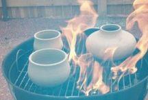 Ceramic Firing Raku