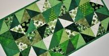 Quiltsy, St. Patrick's Day from the Etsy Quiltsy Team / St. Patrick's Day Quilts and Decor